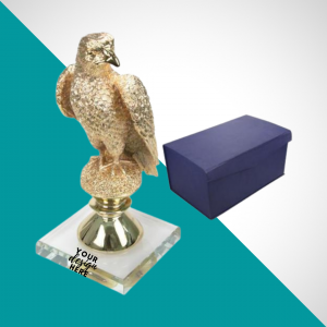 Golden Coated with Falcon with Box