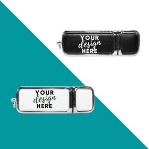 Leather USB flash drives