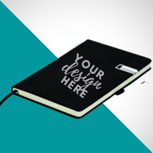 Notebook With USB Flash Drive