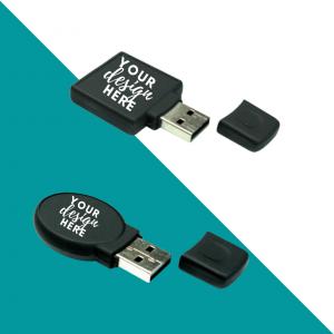 Rubberized USB Flash Drive