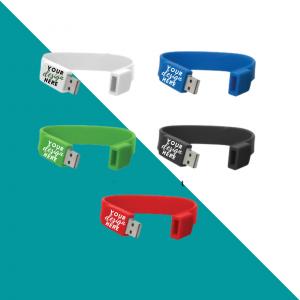 Silicone Wristband USB Flash Drive