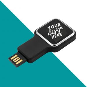 Square Light UP USB Flash Drive