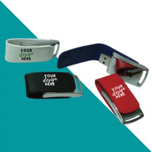 Stylish Leather USB Flash Drive
