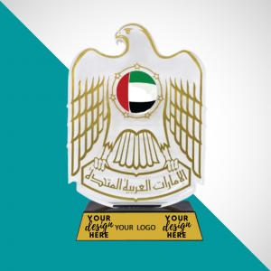 UAE Falcon With Hardboard Box